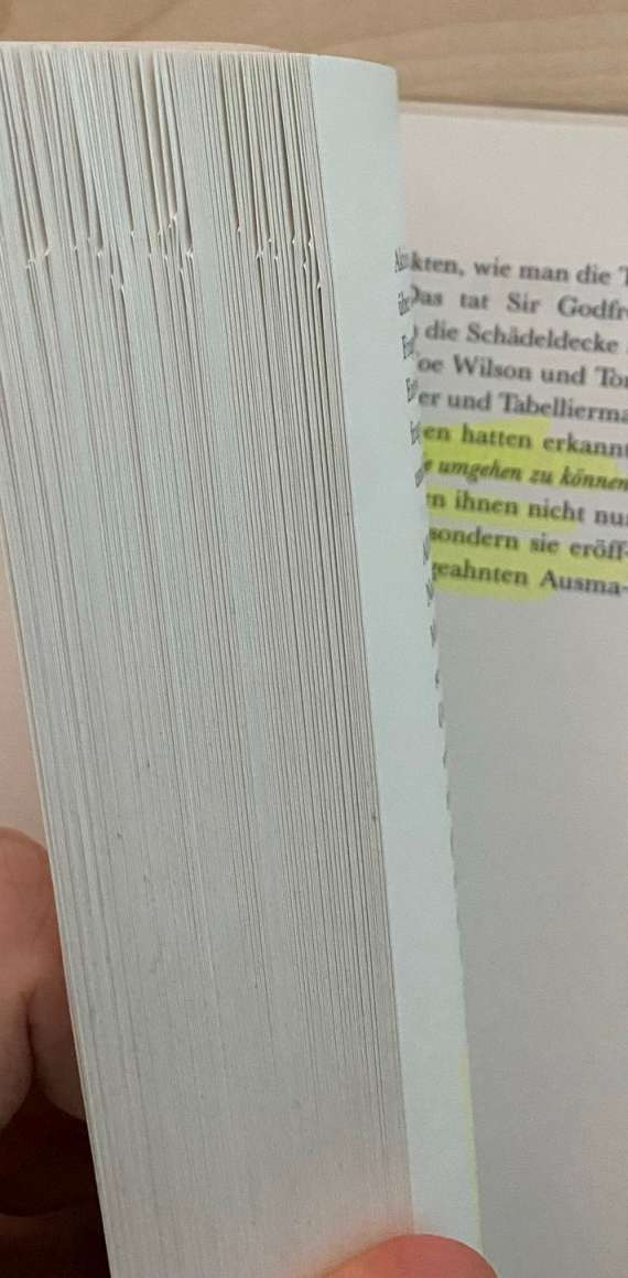 Bücher werden durch gearbeitet, nicht nur gelesen.